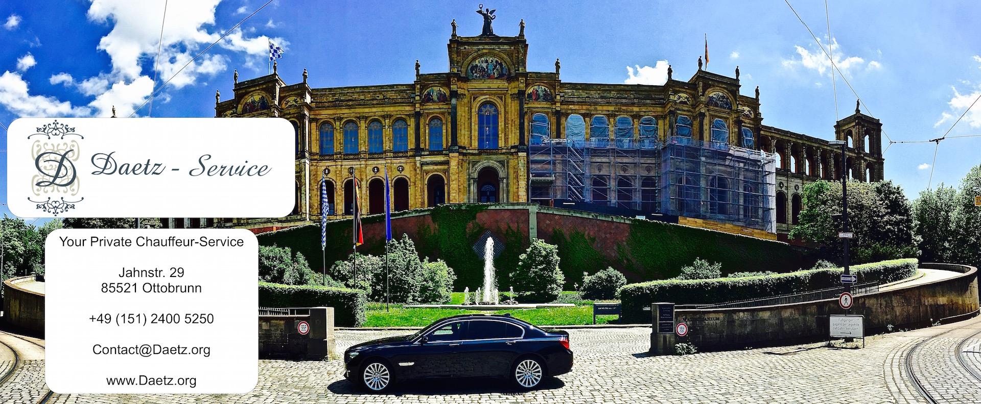 Limousinen Service - Rivoli Hotels München