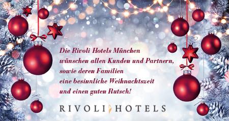 Weihnachtsgrüße Für Gäste.Rivoli Hotels München Weihnachtsgrüße